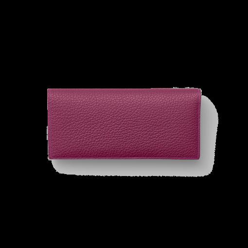 TT2 Wallet<br>German Shrunken Calf×Lamb<br>Indian Pink×Pale Pink