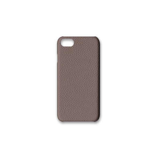 iPhone 7, 8 & SE Case<br>German Shrunken Calf<br>Tortora