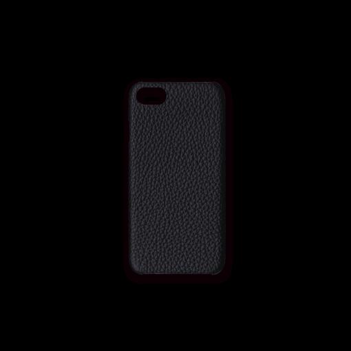 iPhone 7, 8 & SE Case<br>French Crisp Calf<br>Black