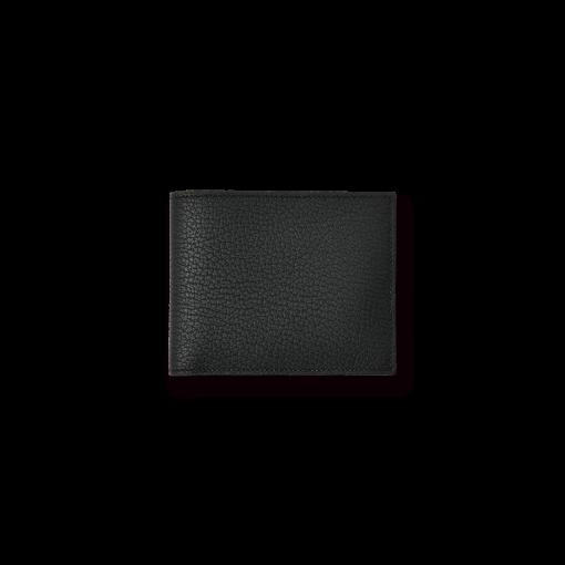 T6 Wallet<br>French Crisp Calf×Lamb<br>Black×New Grey