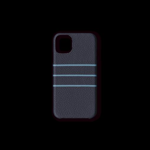 iPhone 11 Pro Max Case/BD<br>French Crisp Calf×Goat<br>Imperial Blue×Azure