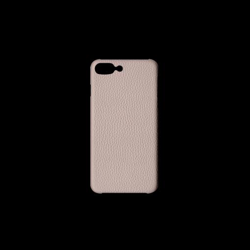iPhone 7Plus&8Plus Case<br>German Shrunken Calf<br>Platinum