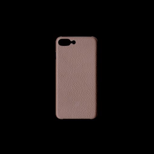 iPhone 7Plus&8Plus Case<br>German Shrunken Calf<br>Tortora
