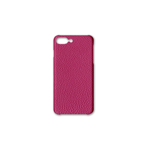 iPhone 7Plus&8Plus Case<br>German Shrunken Calf<br>Indian Pink