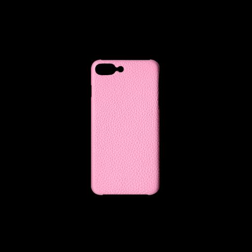 iPhone 7Plus&8Plus Case<br>German Shrunken Calf<br>Pink