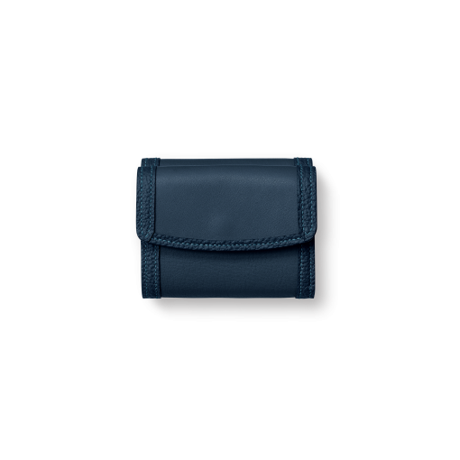WX Wallet 2/CFR<br>Soft Calf (×Shrink Calf Frame)<br>Midnight Blue