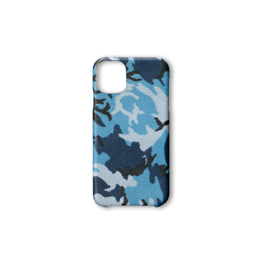 iPhone 11 Case<br>Camouflage Goat<br>Indigo