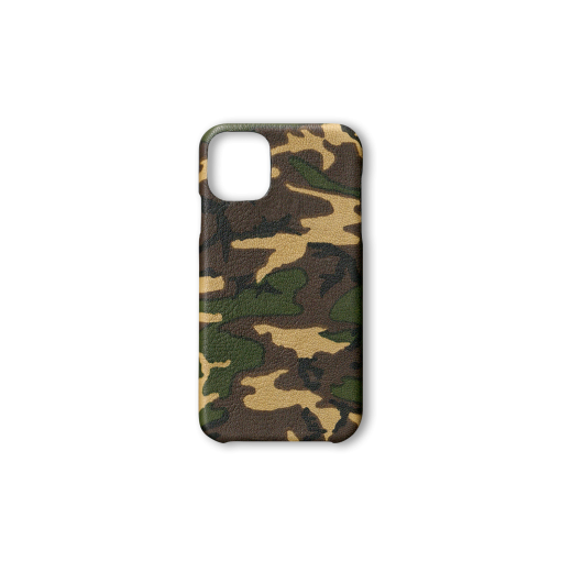iPhone 11 Case<br>Camouflage Goat<br>Dark Natural