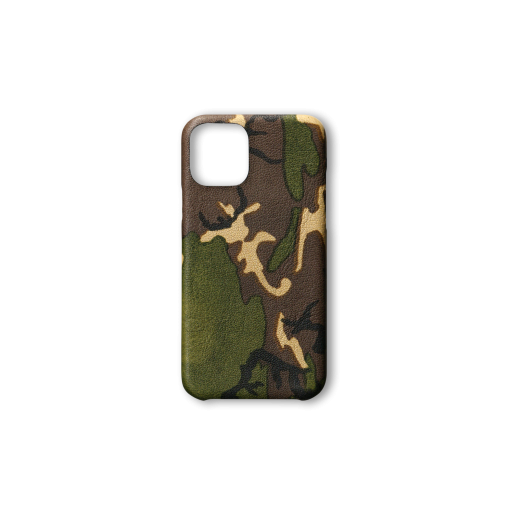 iPhone 11 Pro Case<br>Camouflage Goat<br>Dark Natural