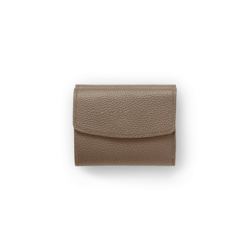 WX Wallet 2<br>German Shrunken Calf×Lamb<br>Tortora×Turquoise