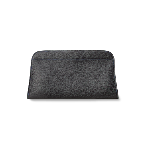 Drop Clutch<br>German Shrunken Calf<br>Black