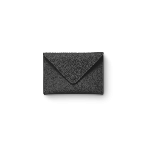 Smart Envelope(S)<br>German Shrunken Calf×Lamb<br>Black×Azure