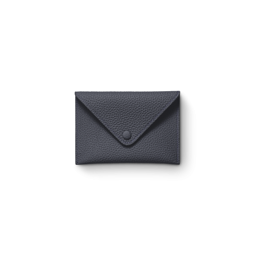 Smart Envelope(S)<br>German Shrunken Calf×Lamb<br>Midnight Blue×Midnight Blue