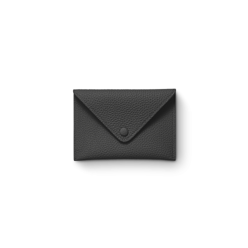 Smart Envelope(S)<br>German Shrunken Calf×Lamb<br>Black×New Grey