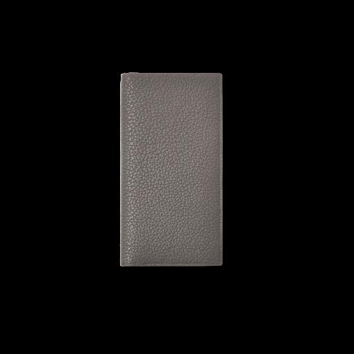 Multi CC Wallet 2<br>German Shrunken Calf×Lamb<br>Titanium×Orange