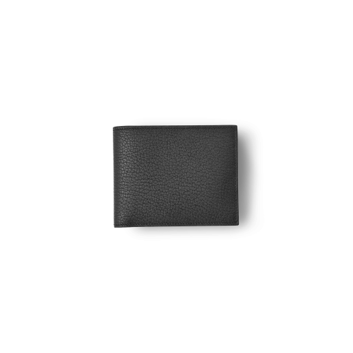 T6 Wallet<br>German Shrunken Calf×Lamb<br>Black×Azure
