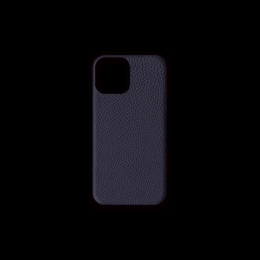 iPhone 12 & 12 Pro Case<br>German Shrunken Calf<br>Midnight Blue