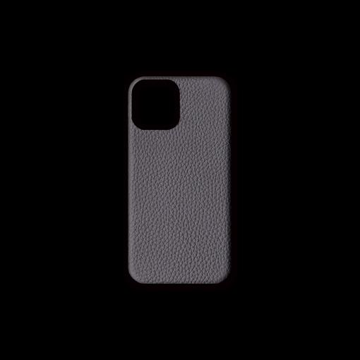 iPhone 12 & 12 Pro Case<br>German Shrunken Calf<br>Titanium