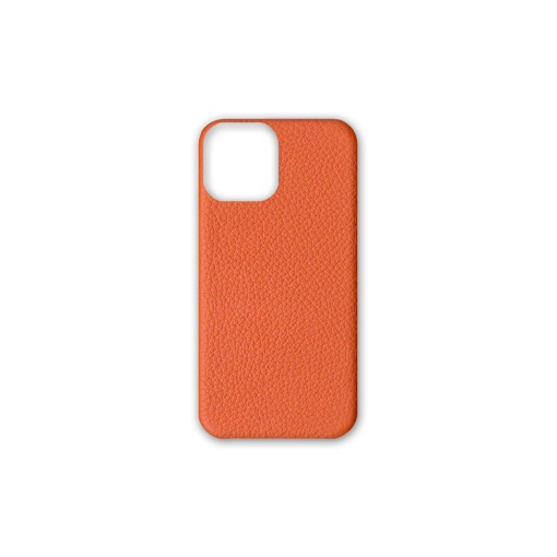 iPhone 12 & 12 Pro Case<br>French Crisp Calf<br>Orange