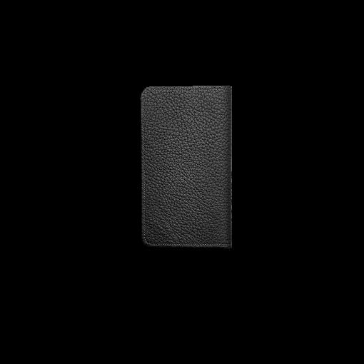 iPhone 12 & 12 Pro Combo Case<br>German Shrunken Calf×Lamb <br>Black×Azure