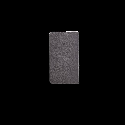 iPhone 12 mini Combo Case<br>German Shrunken Calf×Lamb <br>Titanium×Orange