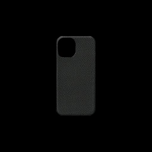 iPhone 12 mini Case<br>German Shrunken Calf<br>Black