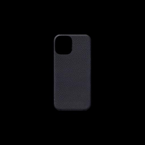 iPhone 12 mini Case<br>German Shrunken Calf<br>Midnight Blue