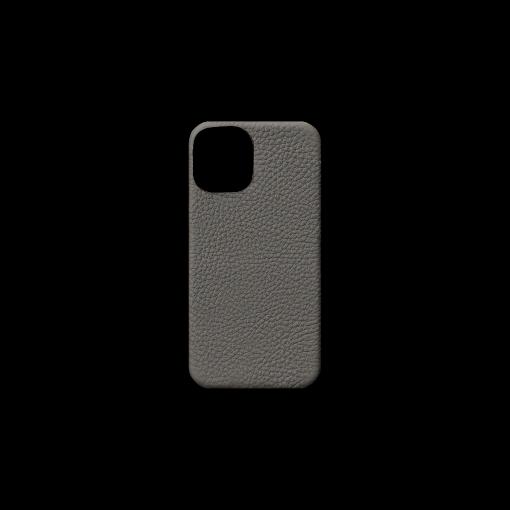 iPhone 12 mini Case<br>German Shrunken Calf<br>Titanium