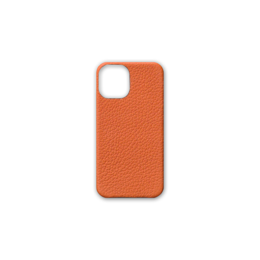 iPhone 12 mini Case<br>French Crisp Calf<br>Orange