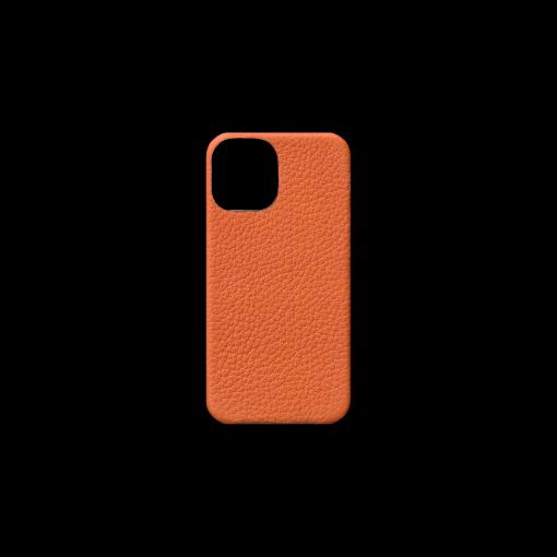 iPhone 12 mini Case<br>French Crisp Calf<br>Orange