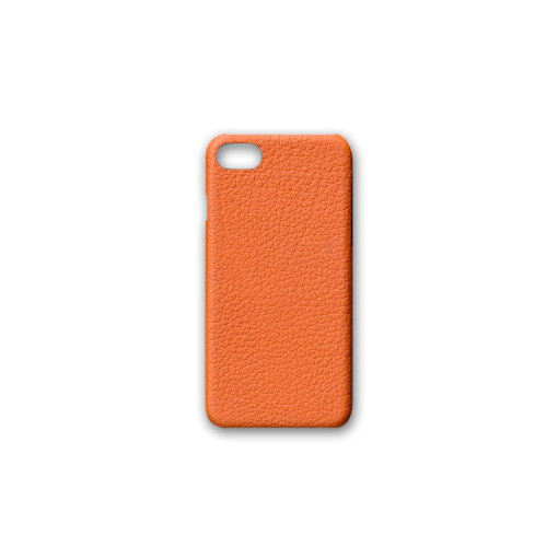 iPhone 7, 8 & SE Case<br>French Crisp Calf<br>Orange