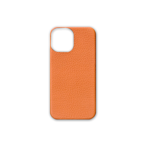 iPhone 12 Pro Max Case<br>French Crisp Calf<br>Orange
