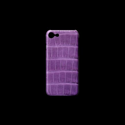 iPhone 7, 8 & SE Case<br>Mississippi Alligator<br>Glossy Violet ※お取り寄せ注文品