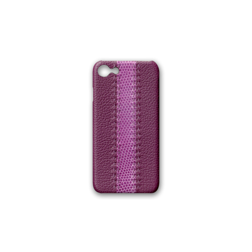 iPhone 7, 8 & SE Case<br>French Crisp Calf×Lizard<br>Violet×Violet