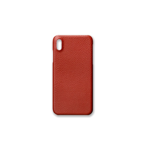 iPhone XS Max Case<br>German Shrunken Calf<br>Red