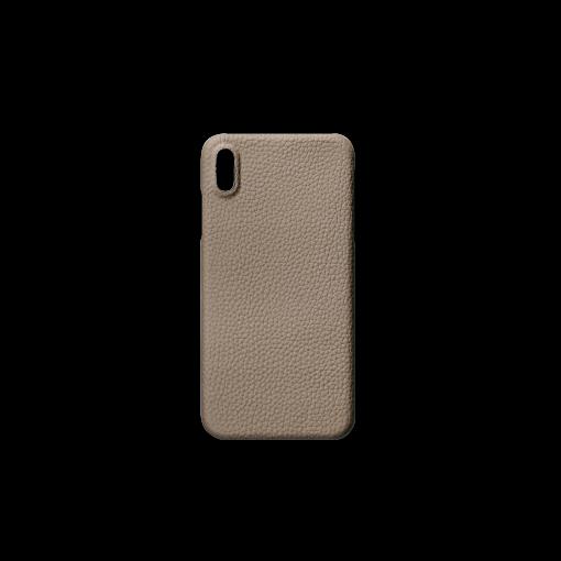 iPhone XS Max Case<br>German Shrunken Calf<br>Tortora