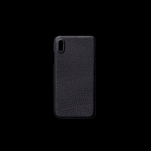 iPhone XS Max Case<br>German Shrunken Calf<br>Midnight Blue
