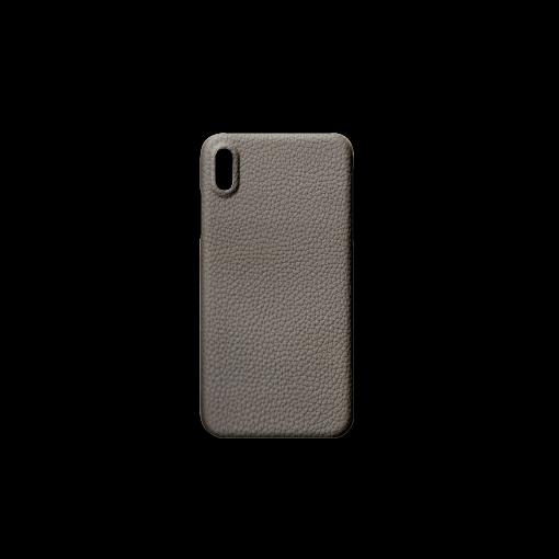 iPhone XS Max Case<br>German Shrunken Calf<br>Titanium
