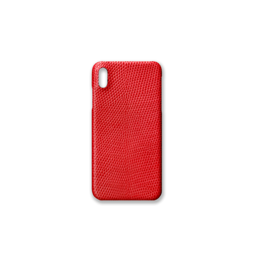 iPhone XS Max Case<br>Lizard<br>Red