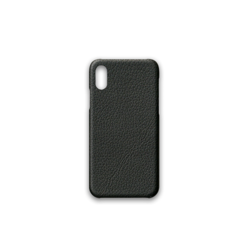 iPhone X & XS Case<br>French Crisp Calf<br>Black