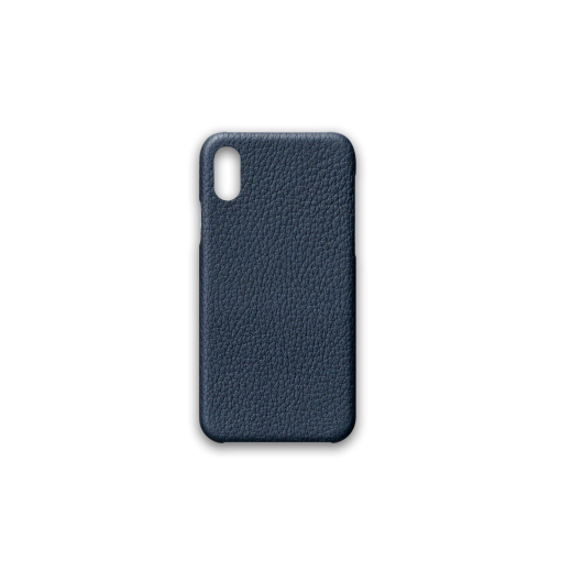 iPhone X & XS Case<br>French Crisp Calf<br>Imperial Blue