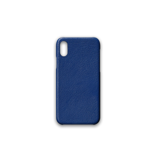 iPhone X & XS Case<br>French Goat<br>Sapphire Blue