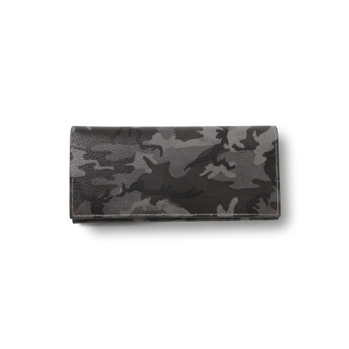 TT2 Wallet<br>Camouflage Goat×Lamb<br>Grey×Yellow