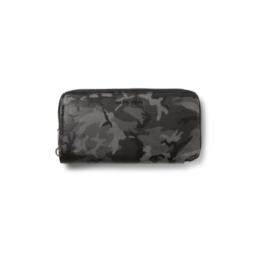 TT3 Wallet<br>Camouflage Goat×Lamb<br>Grey×Yellow
