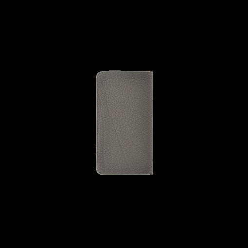 iPhone X & XS Combo Case<br>German Shrunken Calf×Lamb<br>Titanium×Orange
