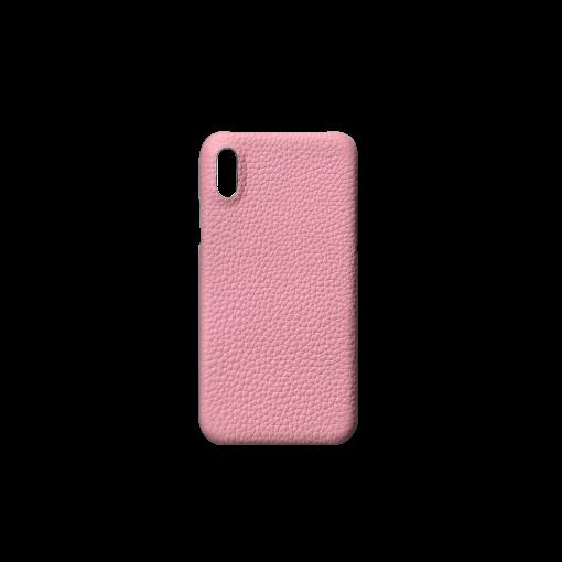 iPhone X & XS Case<br>German Shrunken Calf<br>Pink