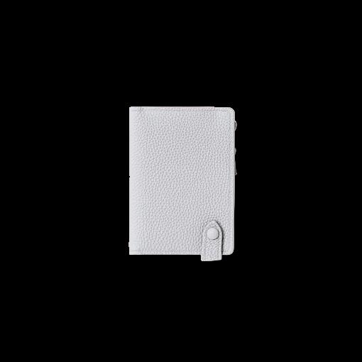 Smart Wallet<br>German Shrunken Calf×Lamb<br>White×New Grey