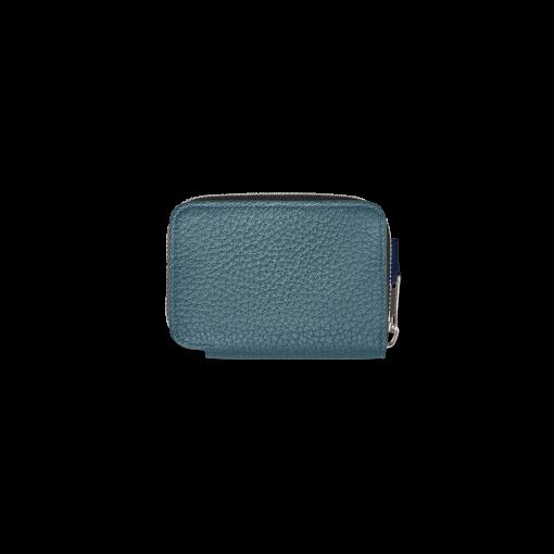 TT3 Coin Case<br>German Shrunken Calf×Soft Calf<br>Ink Blue/Indigo×White