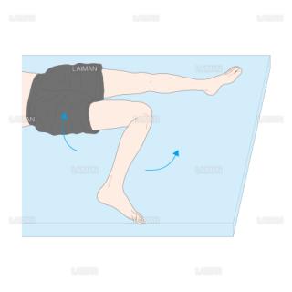 フライバーグテスト(股関節伸展・内旋位) (Sサイズ)