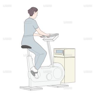 負荷心電図 自転車エルゴメーター (Sサイズ)